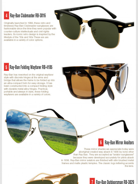b0299b34083 Take A Peek At The Top 10 Ray-Ban Sunglasses