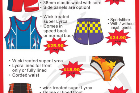 Take Advantage of Acsportswear's Hot Prices on Sports Wear Infographic