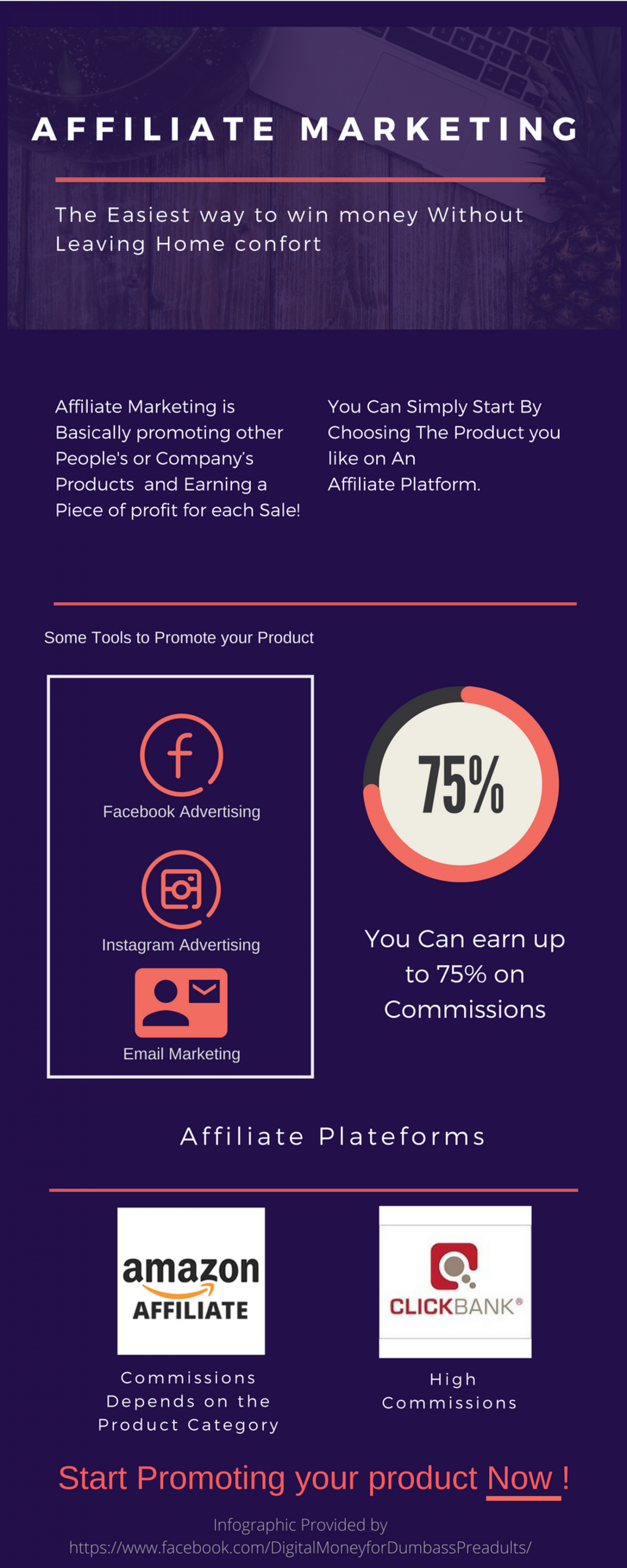 Take Your first Big step Into Becoming A successful Digital Marketer And Design The lifestyle you Deserve ! Infographic
