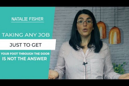 Taking Any Job To Get Your Foot In The Door Could Be A Mistake Infographic