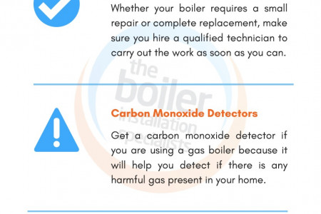 Taking Care of Boiler Infographic