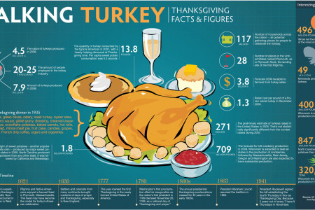 Talking Turkey: Thanksgiving Facts & Figures Infographic