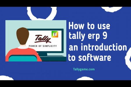 Tally erp 9  accounting software interface Infographic