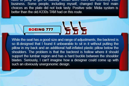 TAM Airlines Infographic