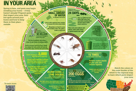 Target Pests in Your Area Infographic