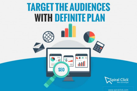 Target The Audiences With Definite Plan and SEO Strategy Infographic