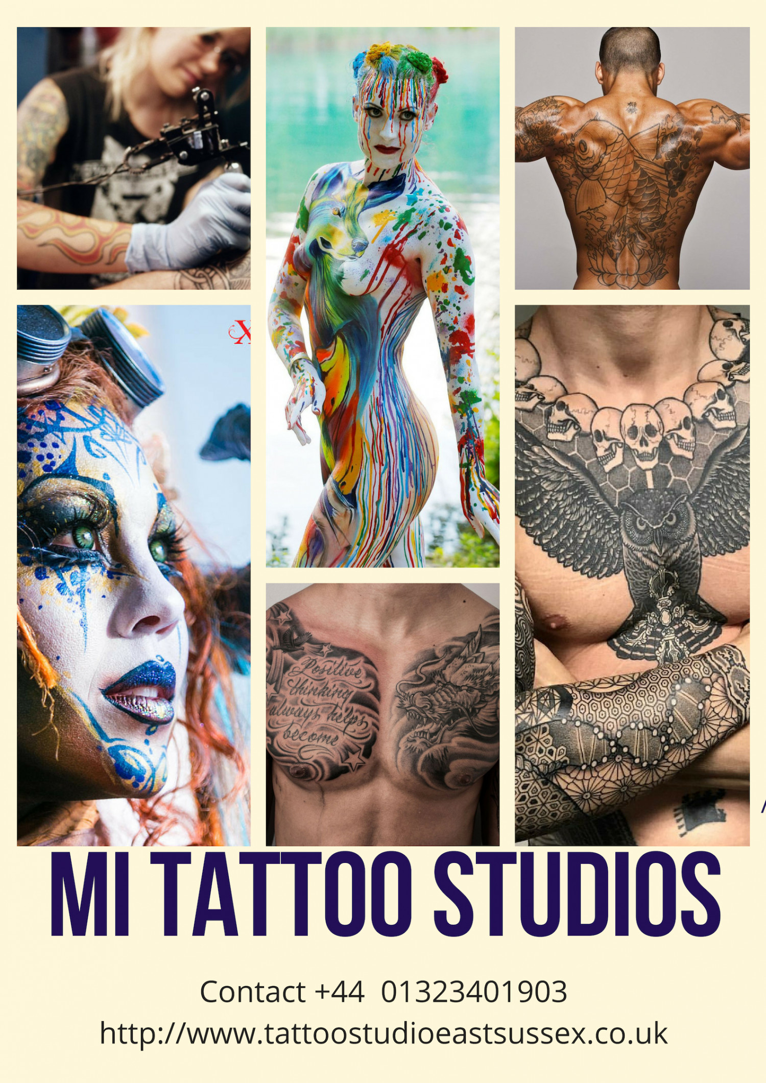 Tattoo And Piercing Studio in East Sussex Infographic