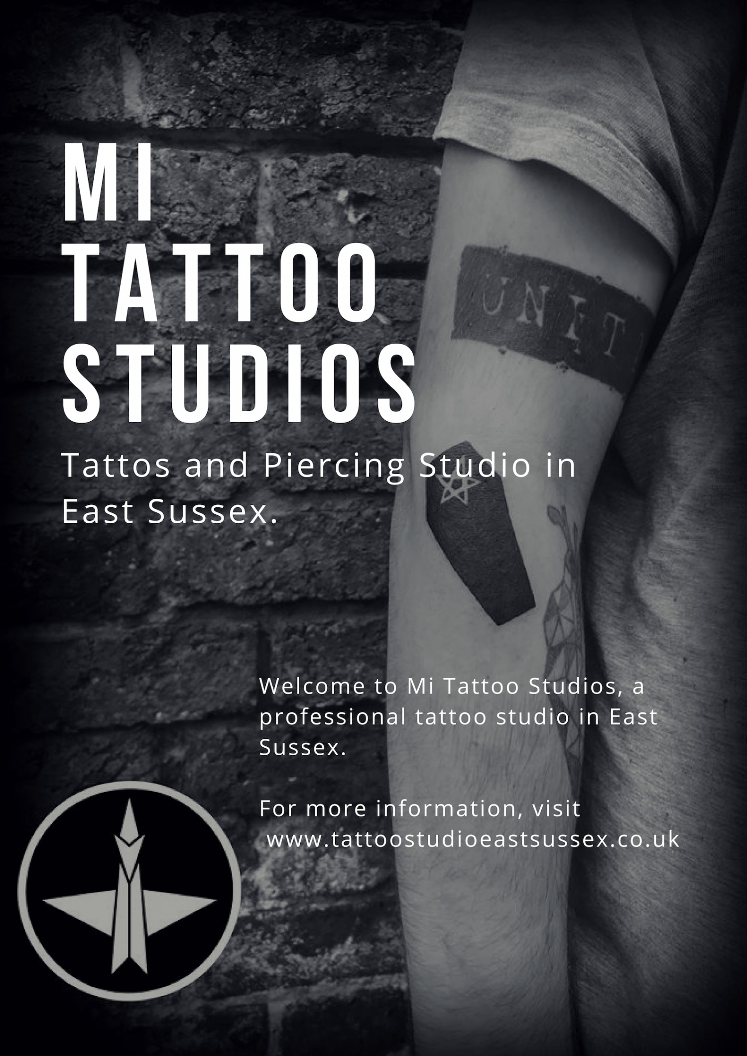 Tattoo Studios in East Sussex Infographic