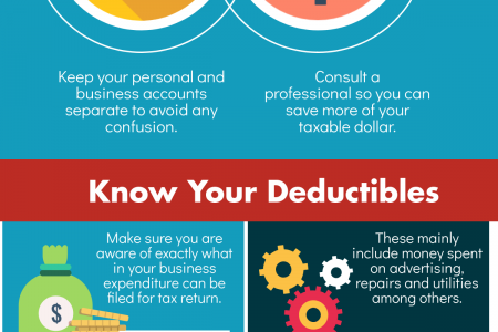 Tax Saving Tips for Small Businesses Infographic