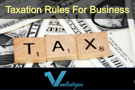 Taxation Rules For Business Infographic