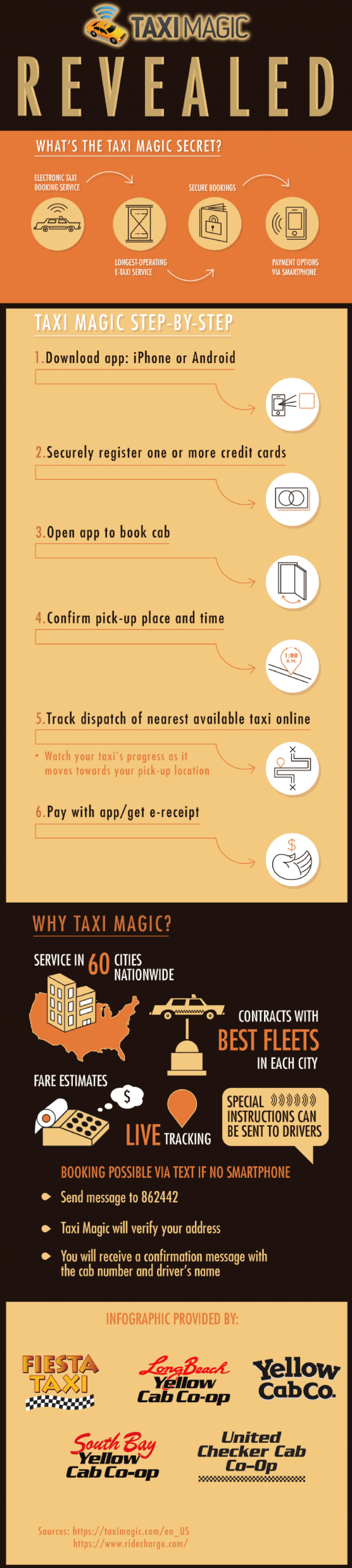 Taxi Magic Revealed Infographic