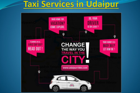 Taxi Services in Udaipur Infographic