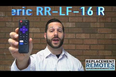TCL 06IRPT20ARC280 ROKU TV Substitute / Anderic RR-LF-16 Infographic