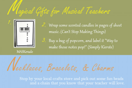 Teacher Appreciation Week Gift Ideas Infographic