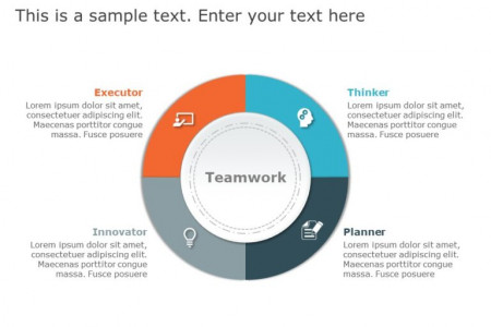 Teamwork Skills Template Infographic