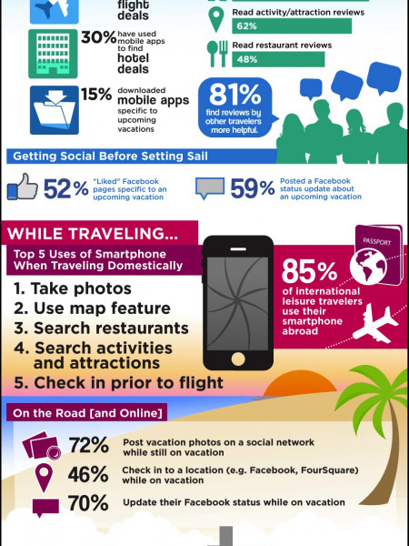 Techie Traveler Infographic