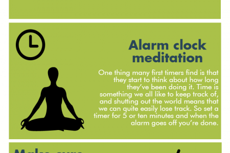 Techniques To Help You Meditate Infographic