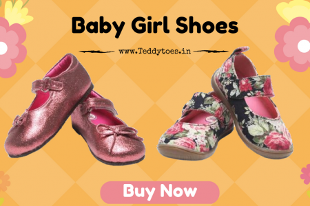 Teddy Toes Baby Girl Shoes Online India Infographic