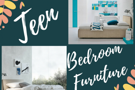 Teen Bedroom Furniture Infographic