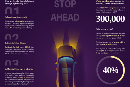 Teen Drivers - Get the Facts Infographic
