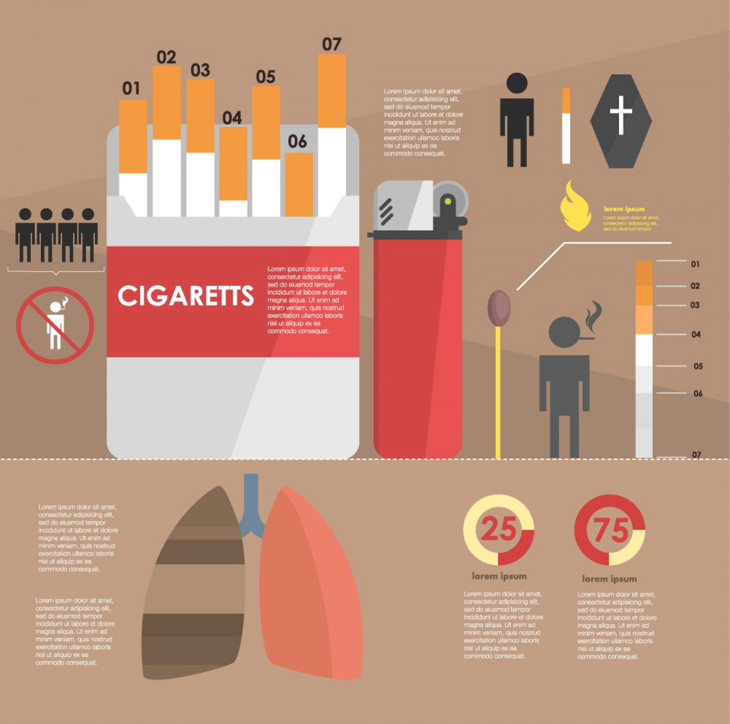 Smoke Infographic. if you smoke cigarettes daily you might ...