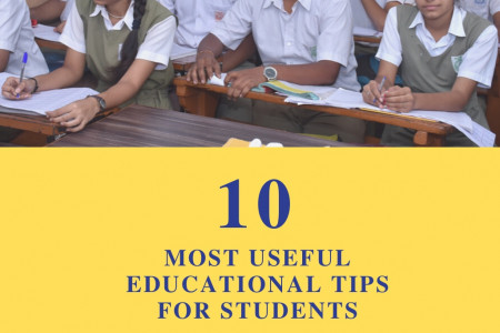 Ten Most Helpful Educational Tips for Students Infographic