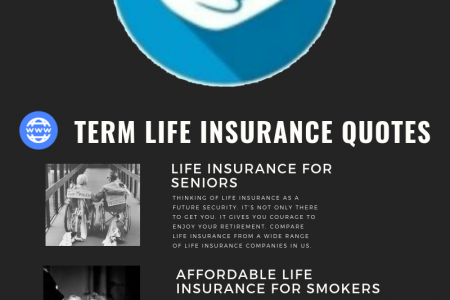 Term Life Insurance Quotes Infographic