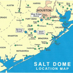 salt map of texas Texas Energy Exploration Llc Salt Dome Locations Visual Ly