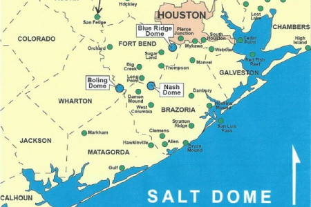 Texas Energy Exploration LLC: Salt-Dome Locations Infographic