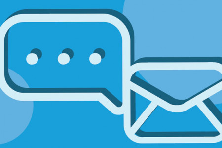 Text Messaging is the New Email for Customer Communication Infographic
