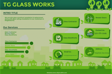 TG GLASS WORKS-Have A Look At Our Unbeatable Glass Services Infographic