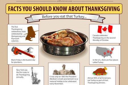 Thanksgiving Facts You Should Know Infographic