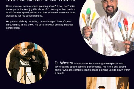 That's Why You Must Watch the Show of This Performance Speed Painter Infographic