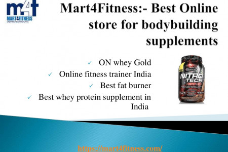 The #1 Online Store for Fitness Supplements in India Infographic