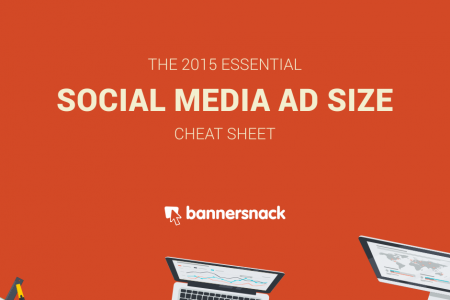The 2015 essential social media ad size cheat sheet Infographic