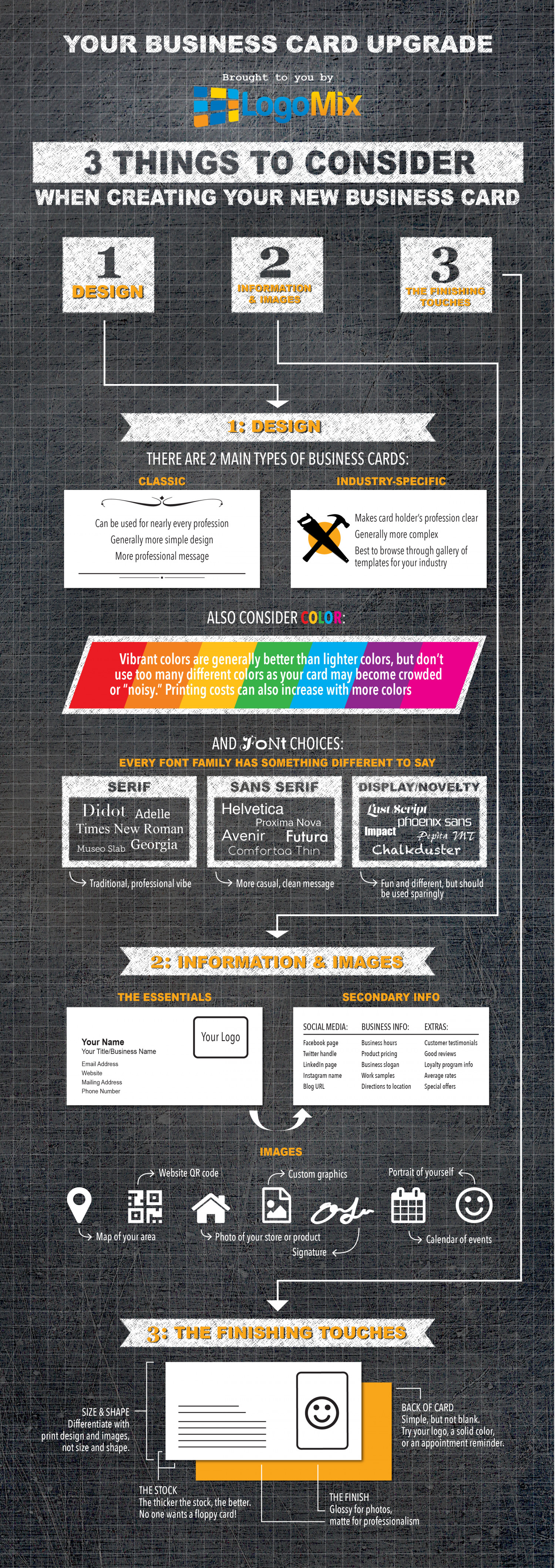 The 21st Century Business Card Infographic