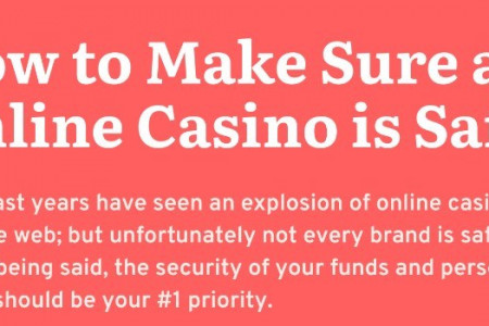 The 5 Signs an Online Casino is Safe Infographic
