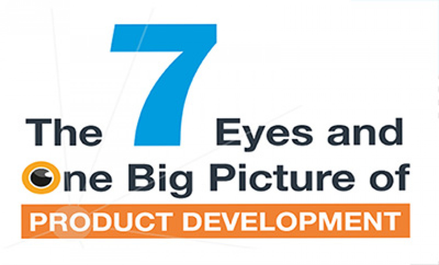 The 7 Eyes and One Big Picture of Product Development Infographic