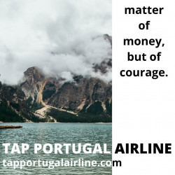 The adventure begins with Tap Air Portugal
