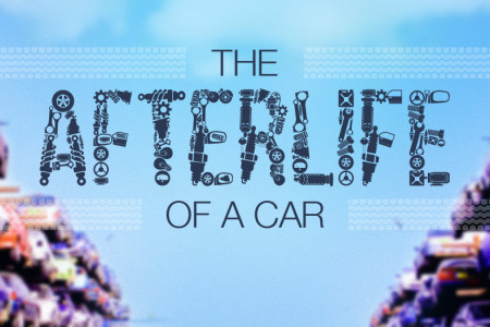 The Afterlife Of A Car Infographic