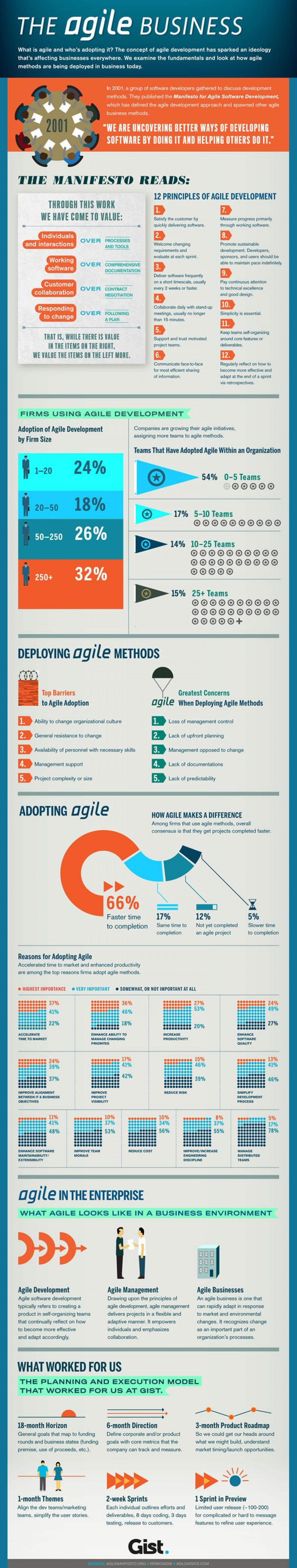 The Agile Business Infographic