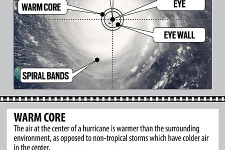 The Anatomy of a Hurricane Infographic