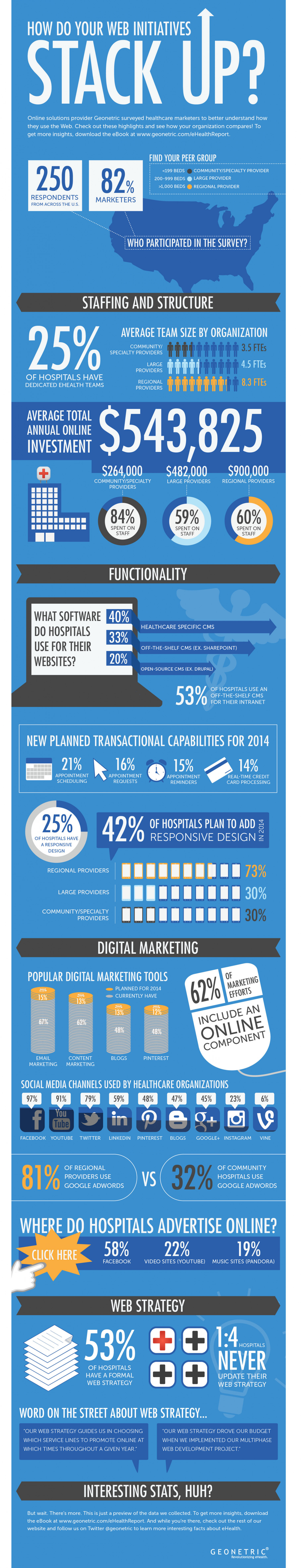 How Do Your Web Initiatives Stack Up? Infographic