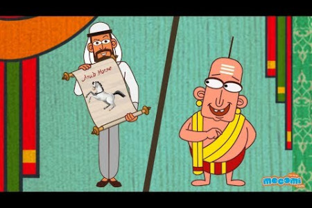 The Arab Horse Trader - Tenali Raman Stories in English | Moral Stories for Kids by Mocomi Infographic