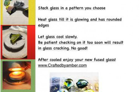 The art of fusing glass Infographic