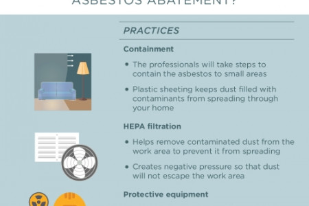 The Asbestos Removal Process  Infographic