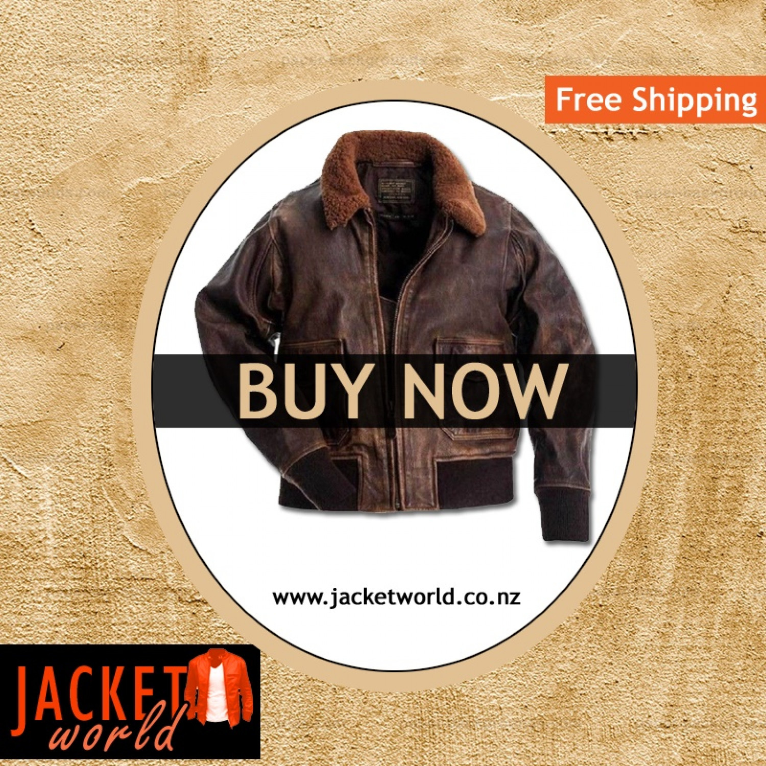 The Aviator Leather Jacket Infographic