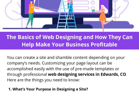 The Basics of Web Designing and How They Can Help Make Your Business Profitable Infographic