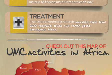 The Battle to End Malaria Deaths in Africa by 2015 Infographic
