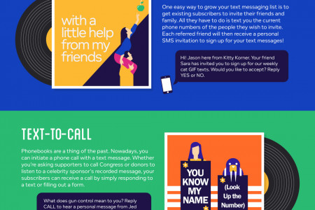 The Beatles Guide to Lovable Text Messaging Infographic